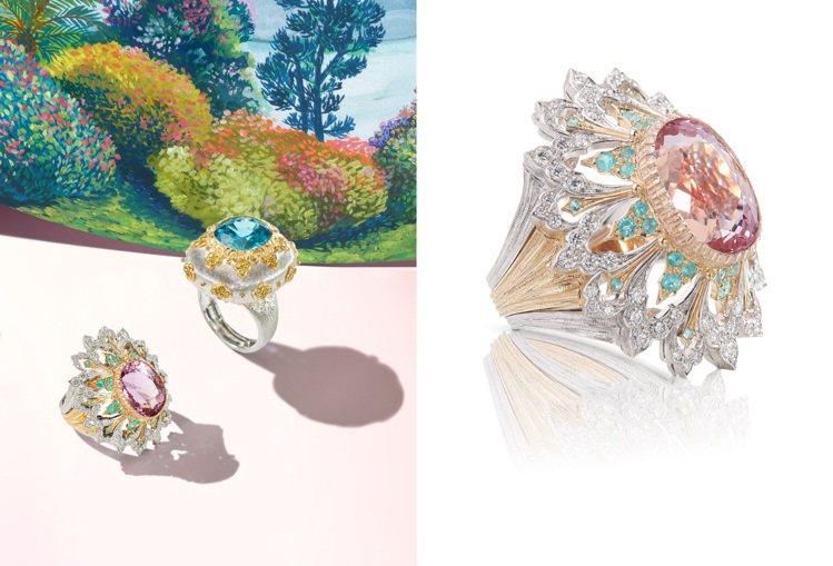 義大利珠寶品牌Buccellati帶來全新L GIARDINO DI BUCCE...