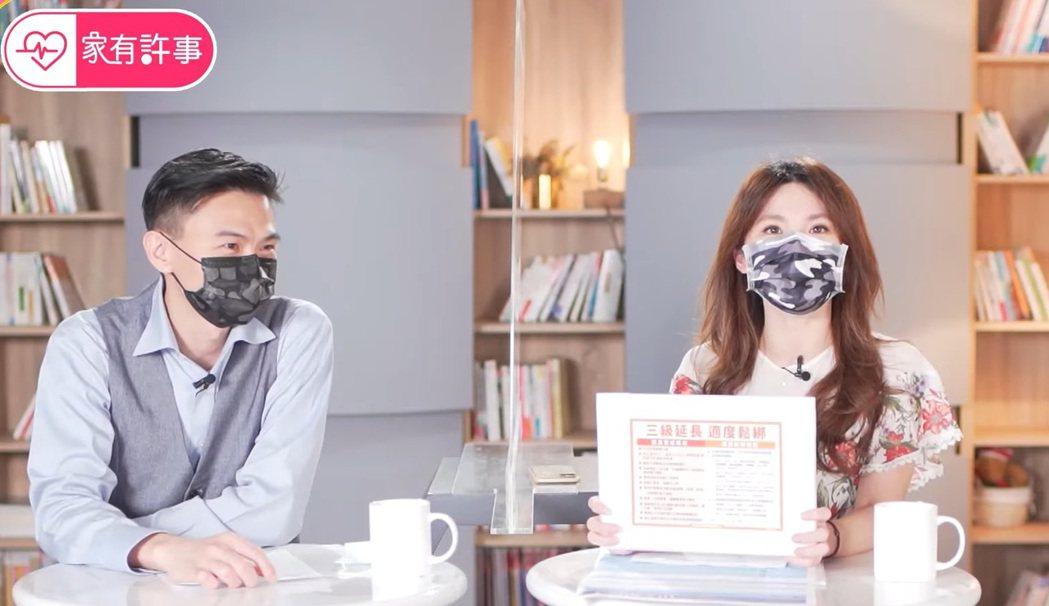家醫科醫師許書華「家有許事」首度同框隊友徐得愷。圖/TVBS提供
