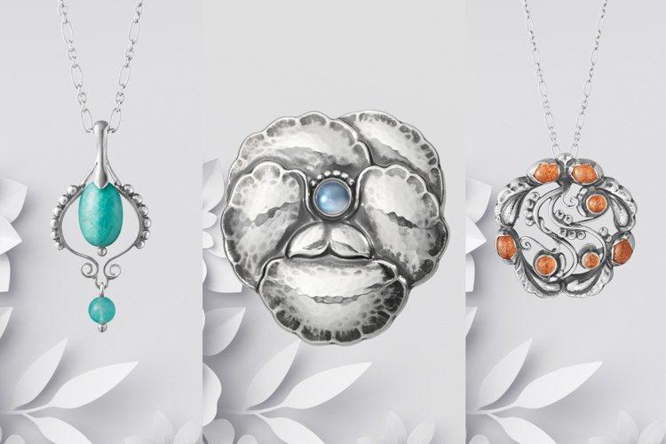 喬治傑生推出專屬台灣市場的限量復刻訂製珠寶及居家美學用品。圖/喬治傑生提供