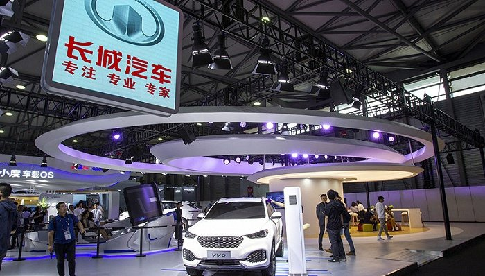 長城汽車上半年淨利潤達人民幣34.98億元,年增205%。(圖/取自界面新聞)