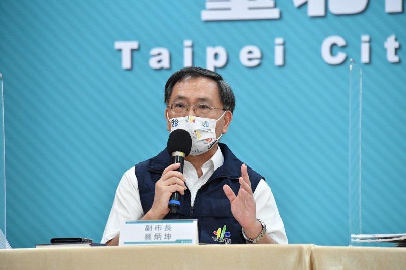 台北市副市長蔡炳坤。
