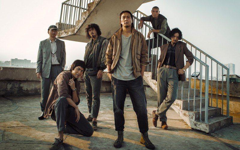 吳彥祖在「除暴」的造型參考90年代搖滾樂手。圖/華映提供