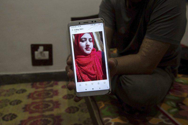 印度錫克教徒巴莉,曾上法院為自己的婚姻辯護,稱是為愛而婚,並非被穆斯林伴侶脅迫。圖/取自紐約時報