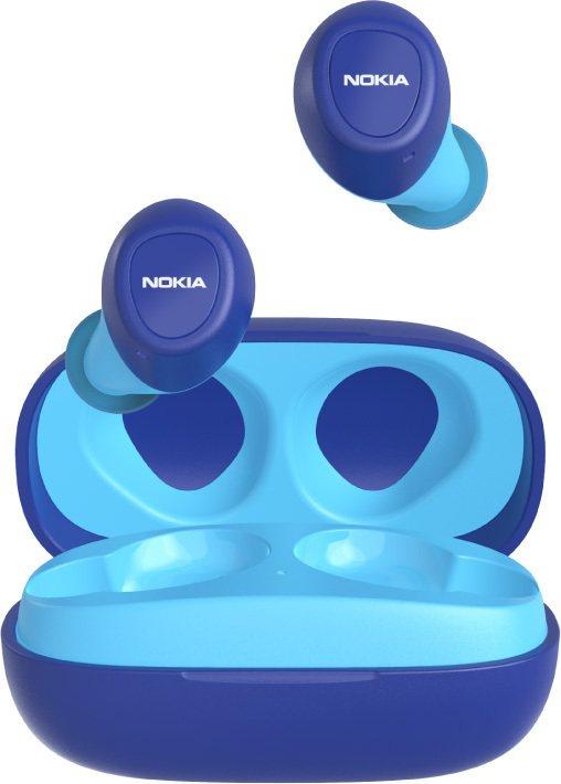 NOKIA真無線藍牙耳機「星空藍撞天空藍」E3100-BU,售價1,980元。圖...