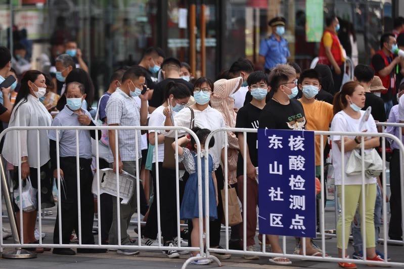 大陸南京再增2例本土確診 6例無症狀感染