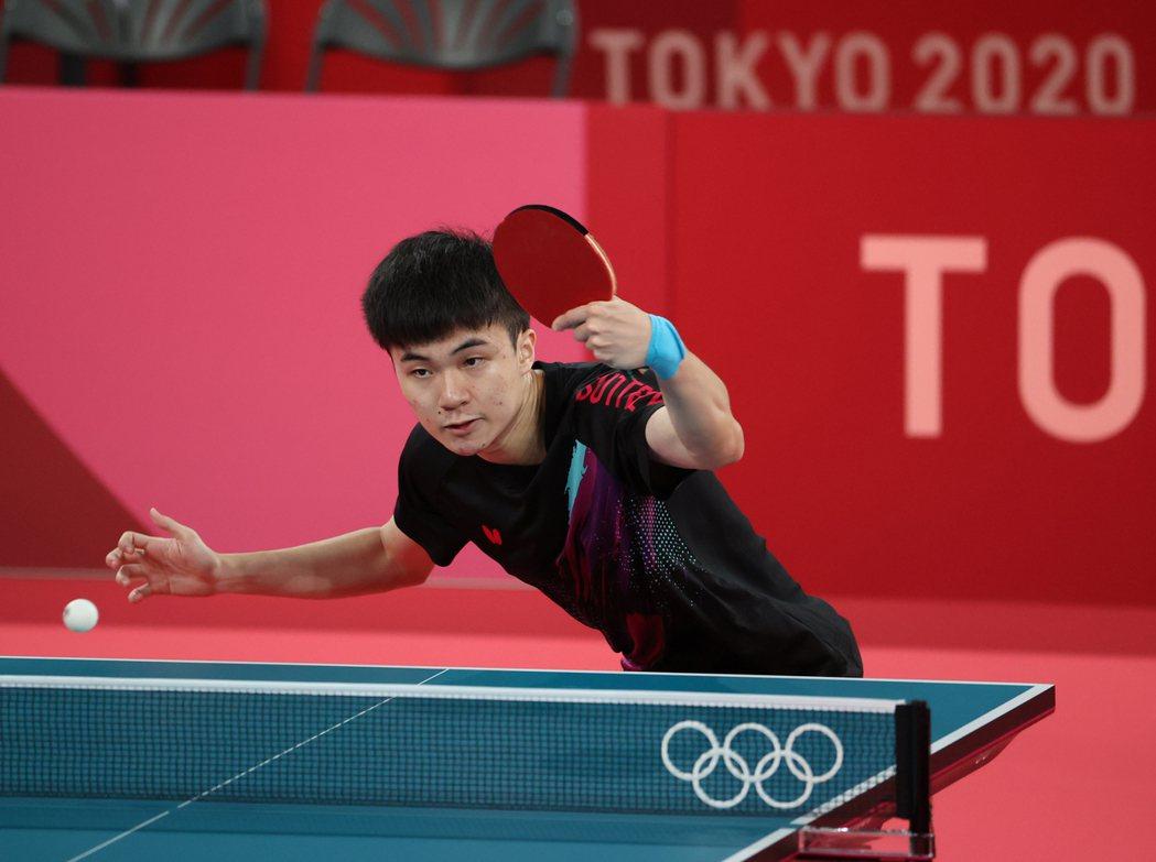 林昀儒男單奪牌之路挑戰重重。圖/體育署提供