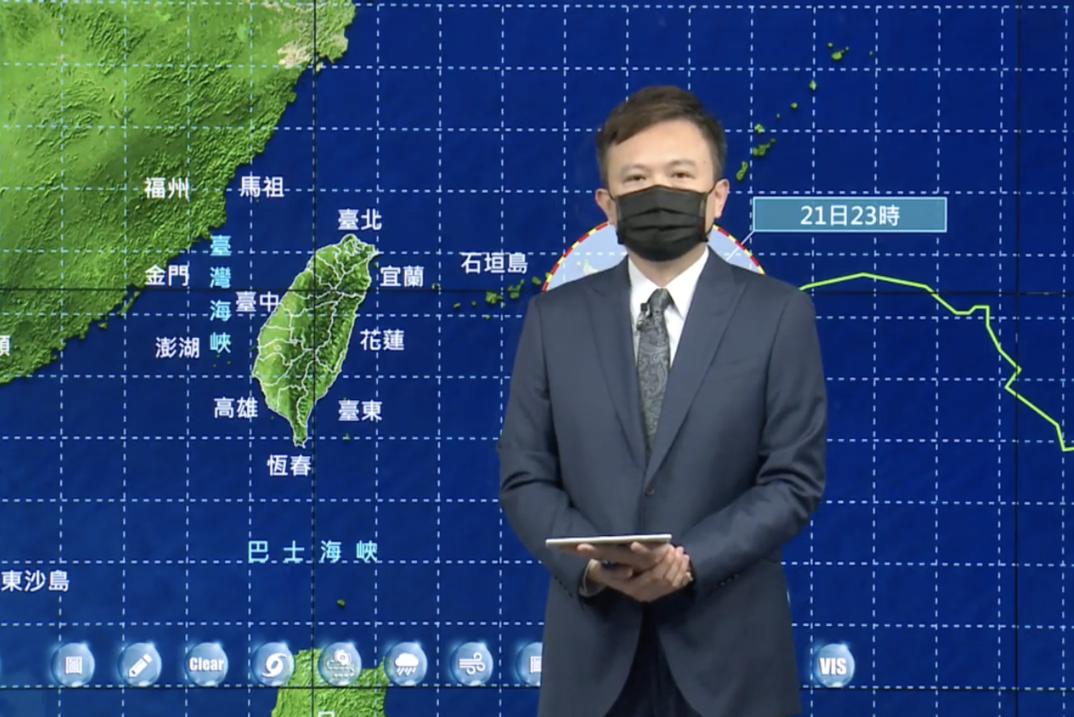 烟花颱風適逢大潮 氣象局提醒:沿海、低窪地區恐淹水