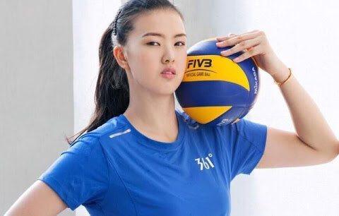 中國排球選手張常寧。 取自推特@sendohmx