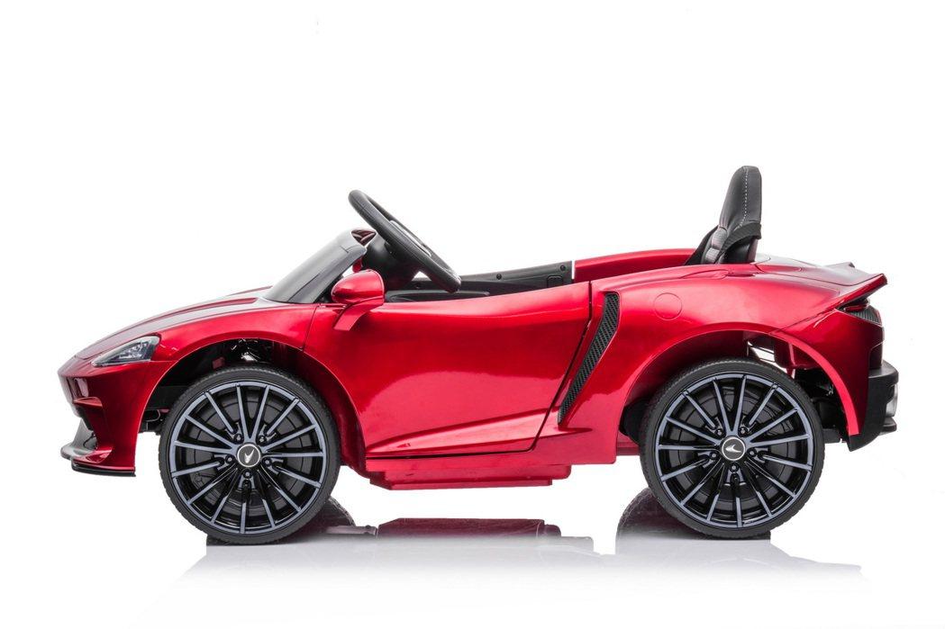 McLaren GT Ride-On。 圖/McLaren提供
