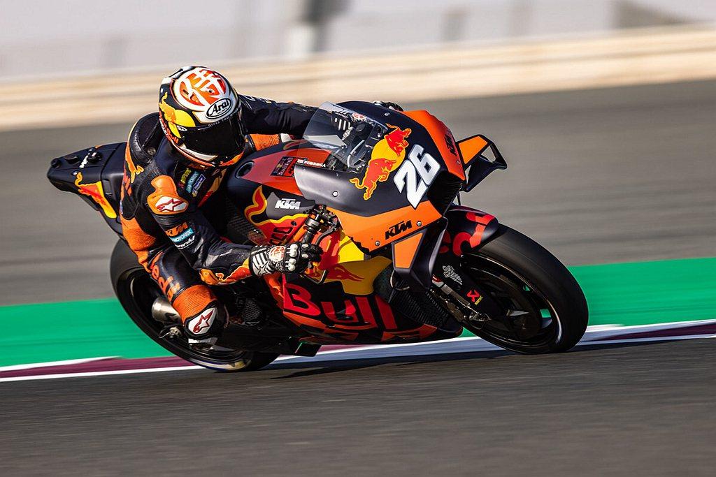Red Bull KTM Factory Racing測試車手Dani Pedr...