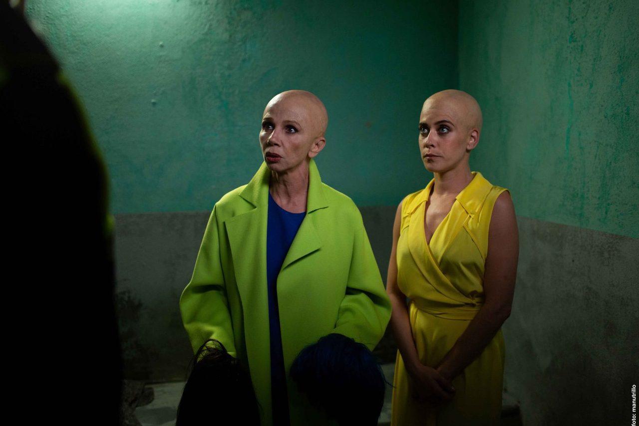 瑪麗亞・萊昂(右)此次飾演單身、獨居、生活簡單的輕熟女艾娃。她在得知自己罹癌後,...