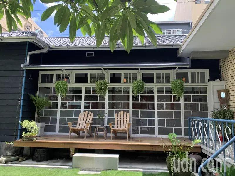 台南六甲毛昭川老屋整修後首度對外開放,建築物內、外都令人驚豔。 圖/吳淑玲 攝影