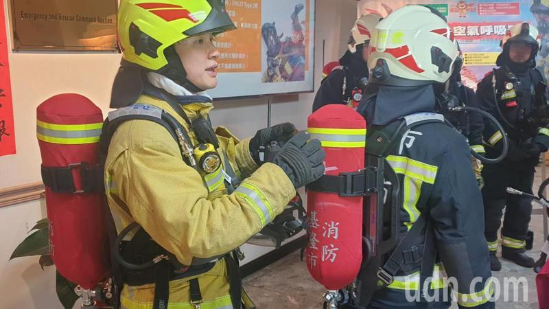 圖為消防員示意圖,非新聞當事人。記者邱瑞杰攝影/報系資料照