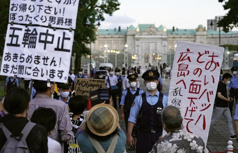 要正常生活不要奧運,美媒揭疫情下日本人心聲。 美聯社