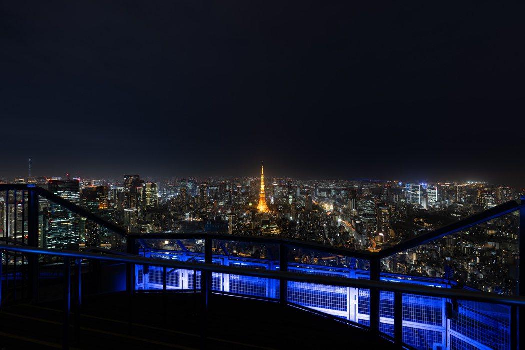 Sky Deck上一覽東京夜景。 圖/森大廈株式會社提供