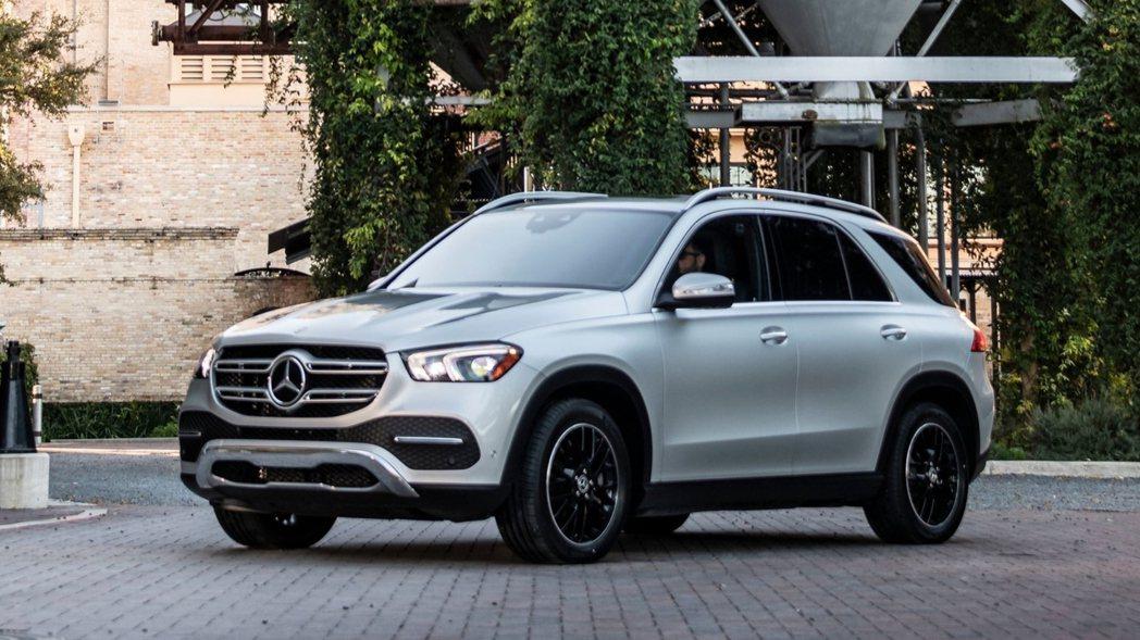 Mercedes-Benz GLE今年上半年在美國售出35,705輛,成為品牌目...