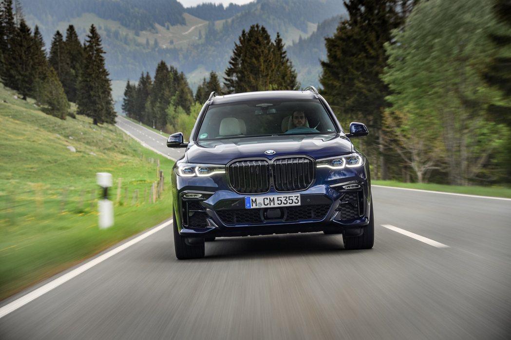 BMW X系列今年上半年在美國銷量占了總數的60%以上。 摘自BMW