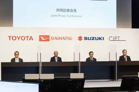 Suzuki和Daihatsu加入Toyota主導的日本商用汽車夥伴 共同迎接新能源挑戰!