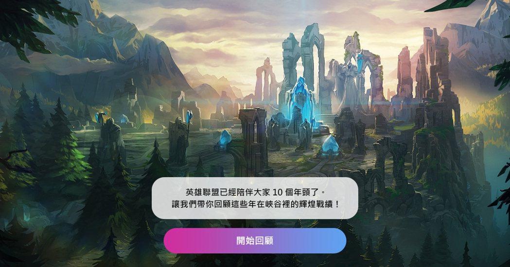 玩家可於週年慶活動主網頁上查詢自己帳號的歷史戰績