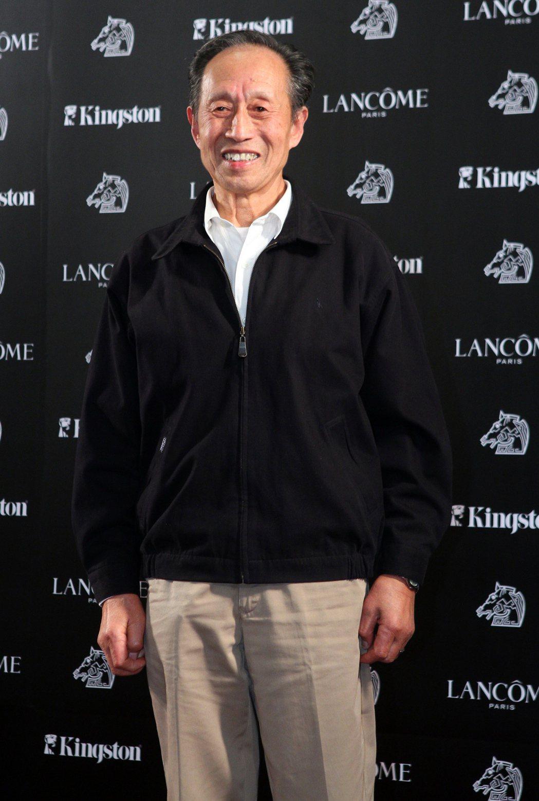 徐才根2010年曾來台出席金馬酒會。圖/聯合報系資料照(記者陳俊吉/攝影)