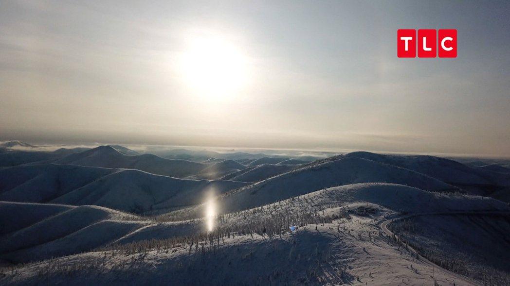奧伊密亞康被稱為寒冷極點,甚至比北極圈還要寒冷。 圖/TLC旅遊生活頻道提供