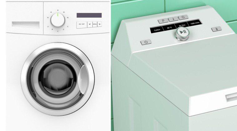 滾筒式(左)與水槽式洗衣機的原理不同,擅長處理的衣物也不相同。圖片來源/ingi...