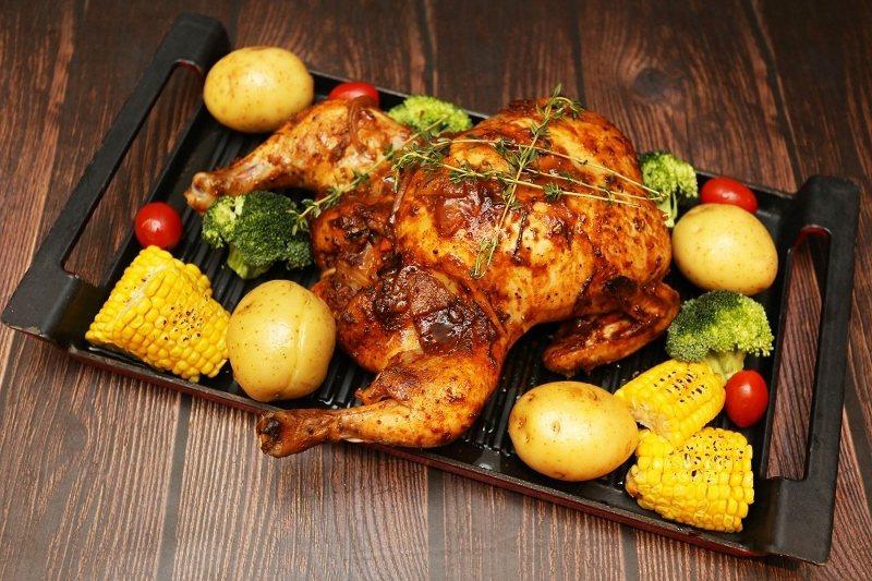 紐奧良烤雞。 台北王朝/提供
