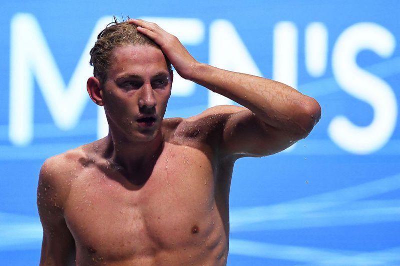 俄國泳將鮑羅廷(Ilya Borodin)確診新冠肺炎,退賽本屆東京奧運。 法新社資料照片