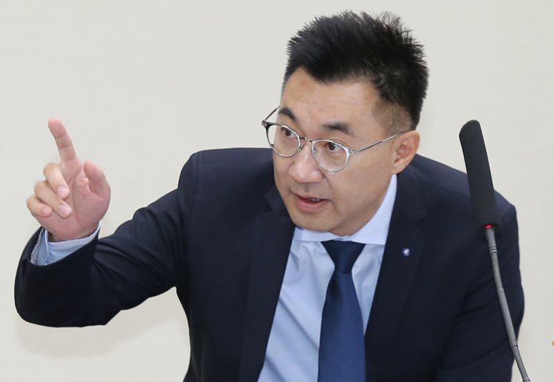 國民黨主席江啟臣。圖/本報資料照片