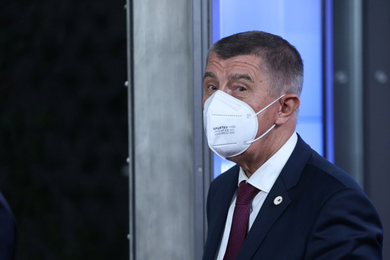 捷克總理巴比斯。 路透社