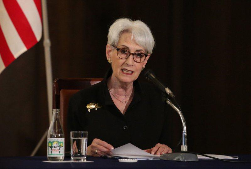 美國副國務卿薛曼(Wendy Sherman)。  歐新社
