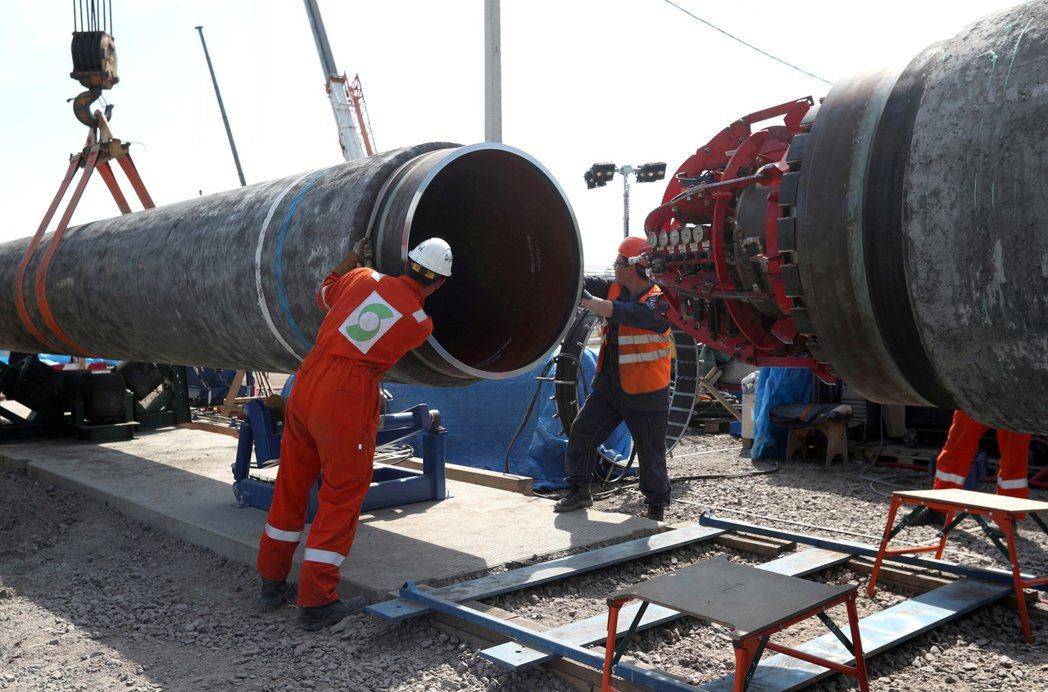 美國表示已與德國達成協議,以防止俄羅斯利用其「北溪2號」天然氣管道做為對歐洲的「...