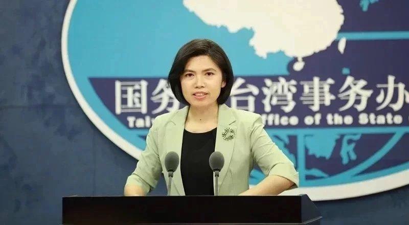大陸國台辦發言人朱鳳蓮。圖/取自大陸國台辦網站
