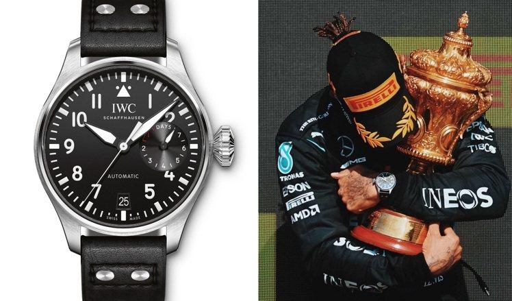 Lewis Hamilton日前甫於英國銀石賽道拿下該賽道的第八次冠軍,在頒獎台...