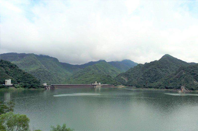 曾文水庫目前蓄水量3.2億立方公尺,約還有3成多蓄容量。圖/南水局提供