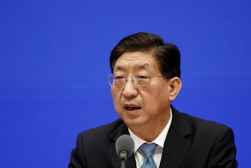 中國國家衛生健康委員會副主任曾益新在北京舉行的記者會上表示,他對實驗室洩漏被列為...