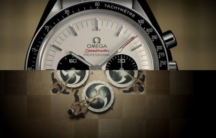 鏗鏘有力的太鼓,以聲音、能量和計時碼表相呼應。圖 / 翻攝自OMEGA官方you...