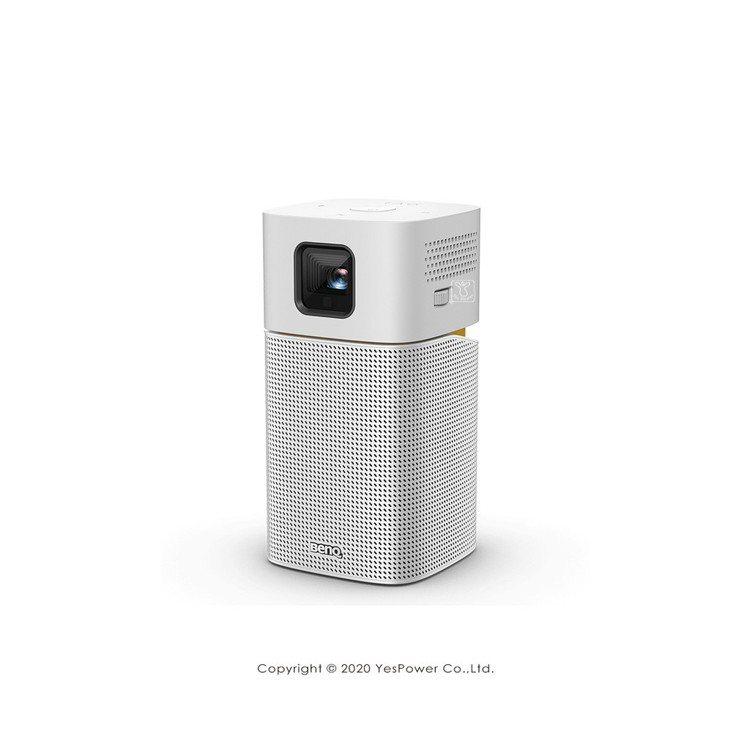 BENQ GV1 LED無線行動投影機,遠傳friDay購物特價9,900元。圖...