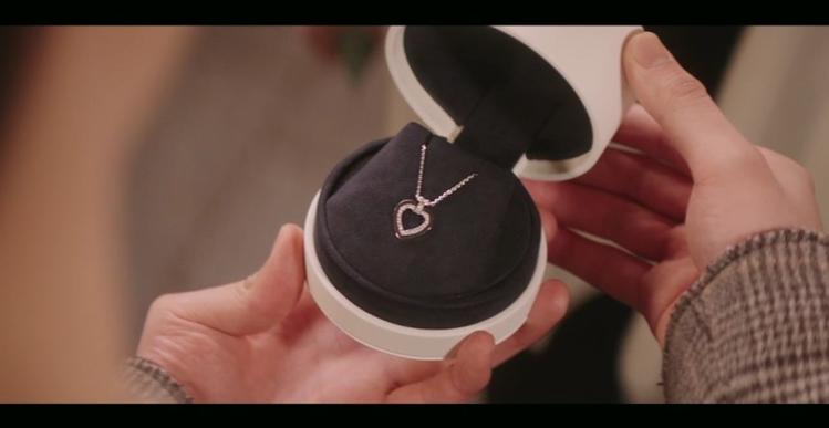 「我的室友是九尾狐」完結篇以FRED的PRETTY WOMAN心形項鍊做為定情物...