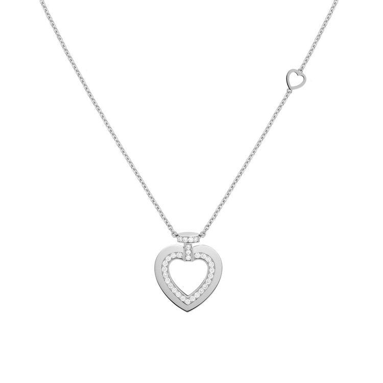PRETTY WOMAN Fine Jewellery 18K白金鑽石項鍊中號款...