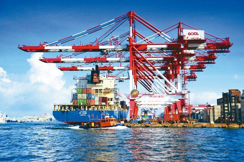 台灣出口強勁推動經濟成長。報系資料照