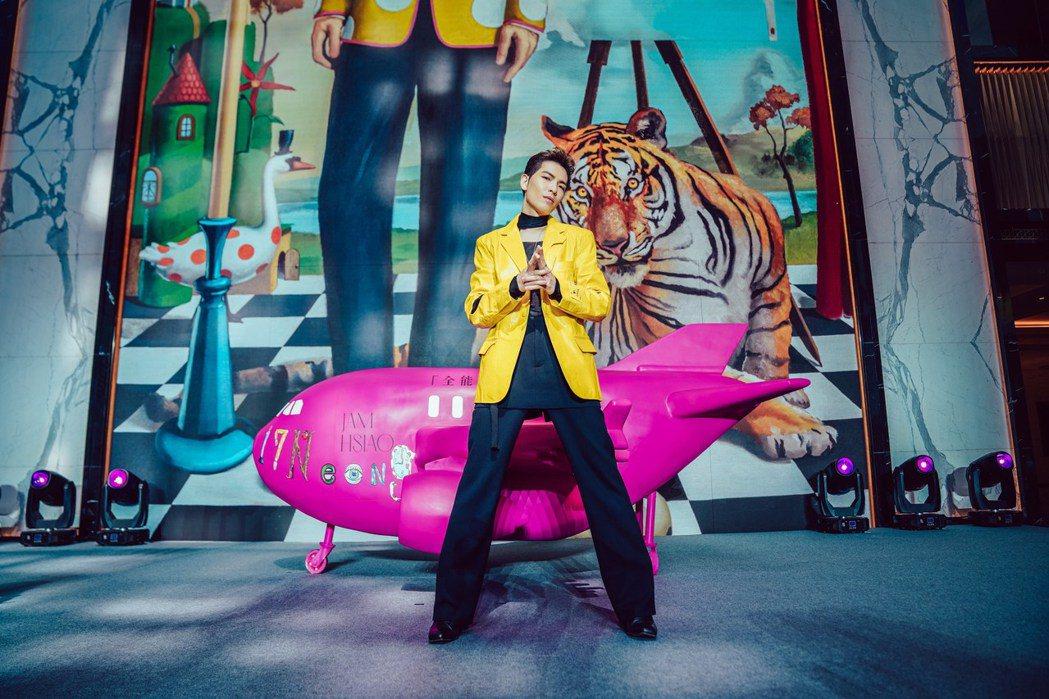 蕭敬騰22日宣布將舉辦全新的「蕭敬騰17Neon9世界巡迴演唱會」。圖/華納音樂...