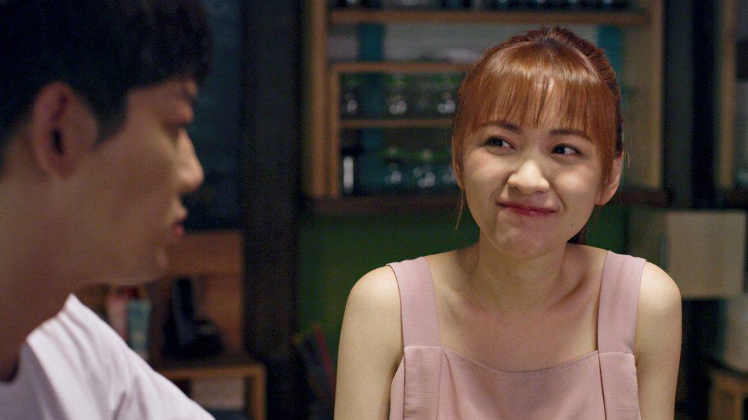 林玟誼(右)在「神之鄉」中飾演餅店女孩。圖/東森提供