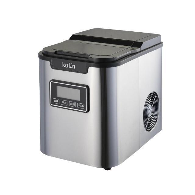 歌林定時微電腦製冰機容量超大,在家自製健康冰飲、冰品就靠它。圖/憶聲電子提供