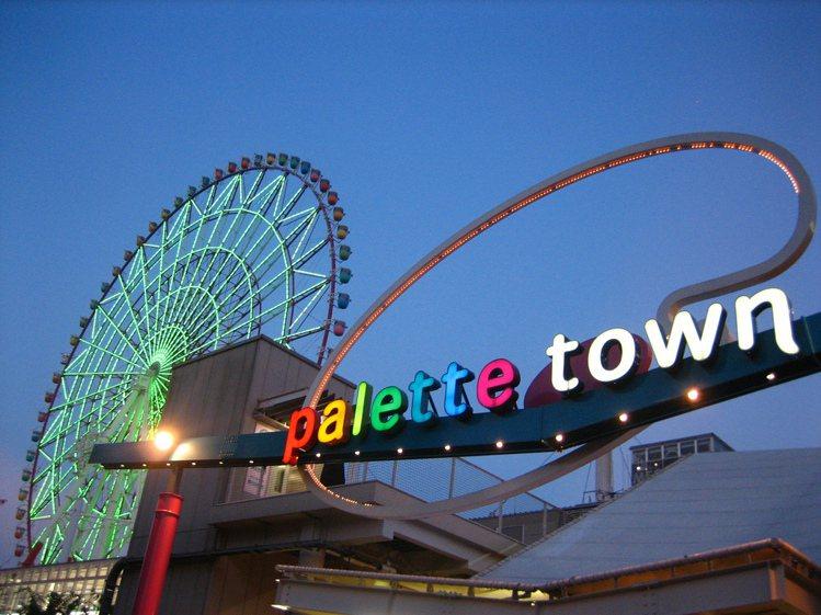 東京台場代表性的彩虹摩天輪,即將於明年8月結束營業。圖/擷取自維基百科