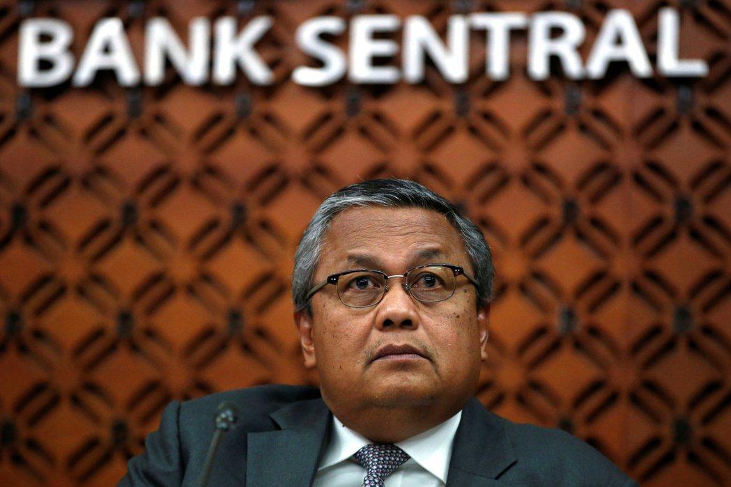 印尼央行總裁瓦吉耶。路透