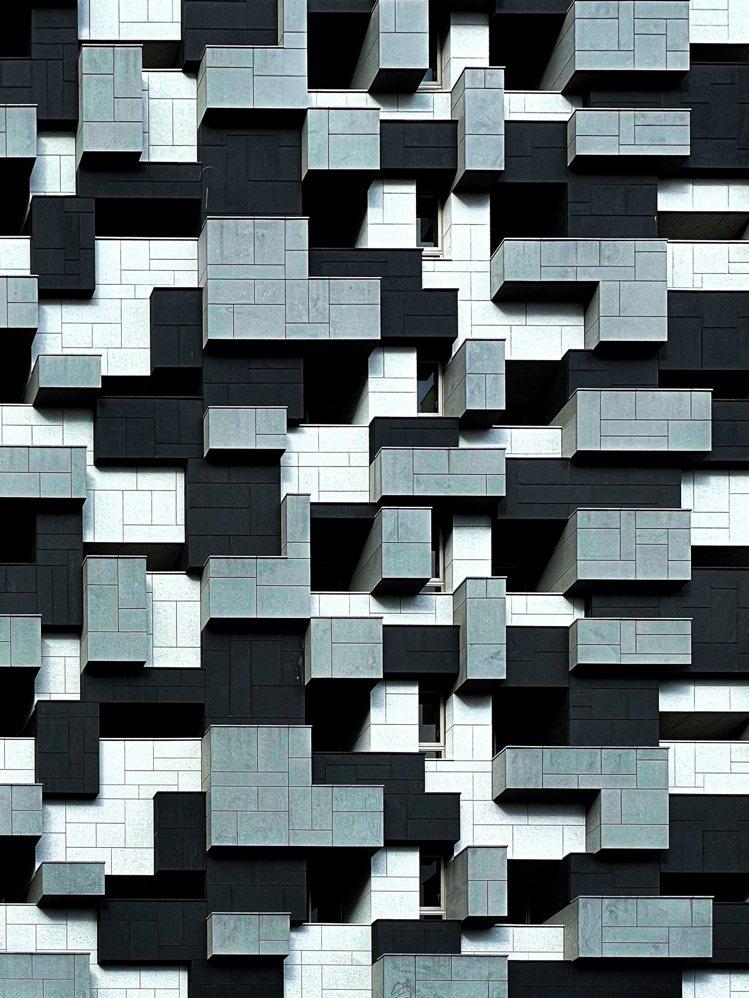 趙培均以最愛的建築立面照片再度獲獎。圖/蘋果提供