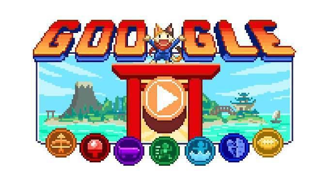 圖擷自Doodle Champion Island Games