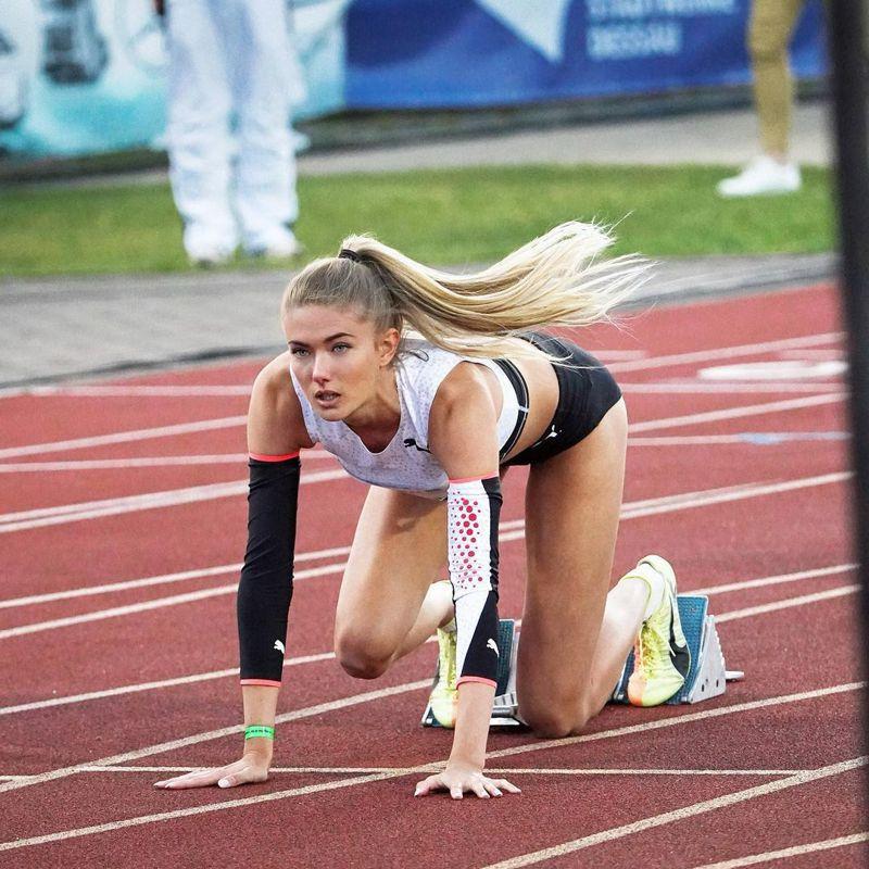 被媒體封為「最性感運動員」的Alica Schmidt將代表德國出征東京奧運。圖/摘自instagram