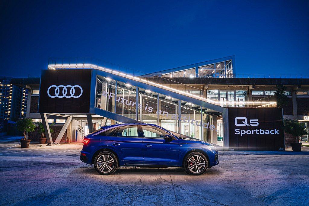 Audi Q5 Sportback絕美登台,上市之際更新增S line車型,全車...